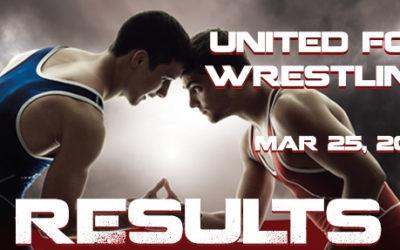 United For Wrestling 2018 – Results