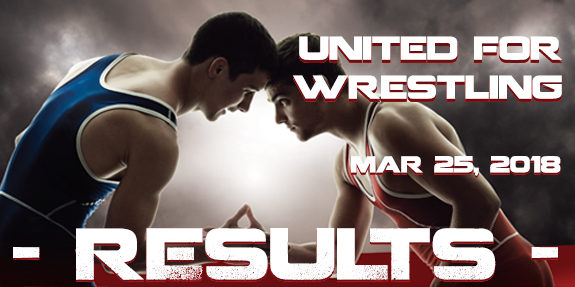 United For Wrestling 2018 – Results