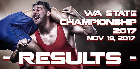 WA State Championships 2017 – Results