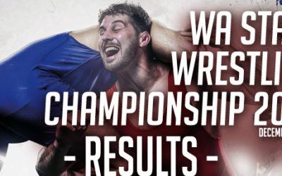 WA State Championships 2019 – Results